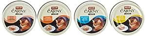 Animonda Katzenfutter Carny Ocean Mix 1 aus 4 Varietäten, 12 er Pack (12 x 80 g)