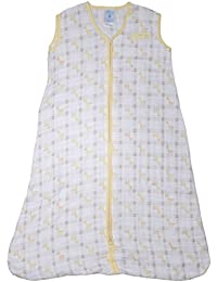 Halo SleepSack 100% muselina de algodón manta portátil (amarillo, ...