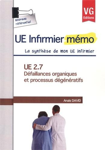 UE 2.7, Défaillances organiques et processus dégénératifs
