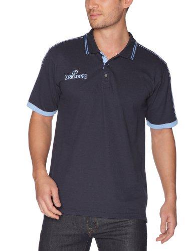 Spalding Teamtrikots & Sets Polo Shirt - Camiseta de baloncesto para hombre, color azul, talla  XXXXL  Waist/33 Leg