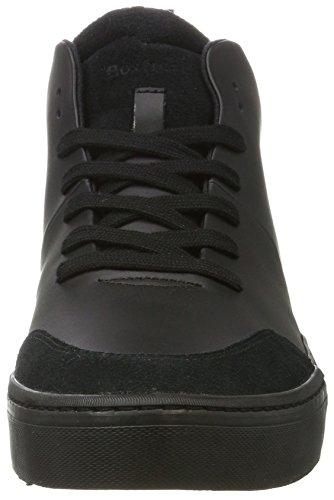 Boxfresh Men Lezon Sh Lea / Sde Blk Alta Sneaker Nero (nero)