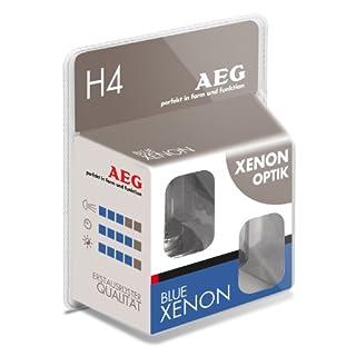 AEG Automotive 97261 Glühlampe Blau Xenon H4, 60/55 W, 2-er Set