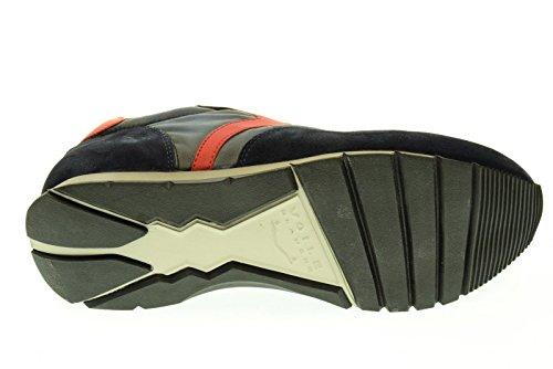Chaussures pour homme Voile Blanche Liam Power Vel/Tis.Lubic Décoloré/Techno ap07 Blu-Rosso