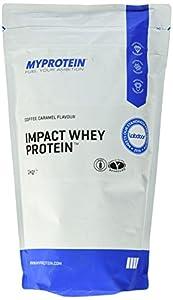 Myprotein Impact Whey Protein Coffee Caramel, 1er Pack (1 x 1 kg)
