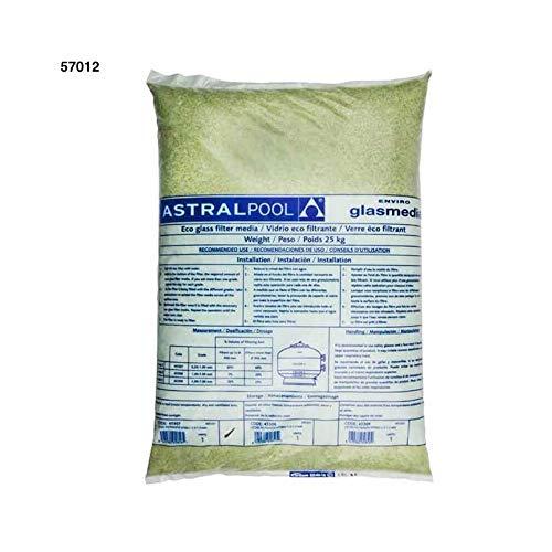 Astral Pool - (57012) 1.0-3.0Mm Aktivglas für Sandfilter 25Kg - 57012-vetro -