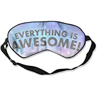Everything Is Awesome 99% Eyeshade Blinders Sleeping Eye Patch Eye Mask Blindfold For Travel Insomnia Meditation preisvergleich bei billige-tabletten.eu