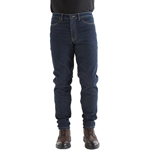 """Knox Spencer Slim Fit Blue Motorcycle Jeans (with Knee Armour) 3XL (40"""")"""