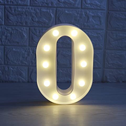 Letters Battery Operated LED Light Sign, Alphabet A-Z Plastic Marquee Lamp,Lighting up Words, for Birthday Wedding Party Bar Bedroom Wall Hanging