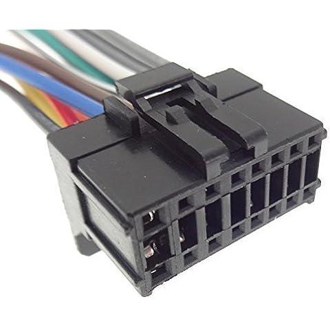 PIONEER (12) cable adaptador de Radio para la Radio del coche connettore ISO