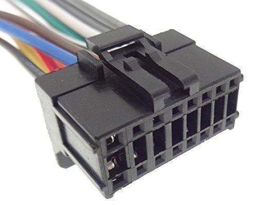 PIONEER (12) Autoradio Kabel Radio Adapter Stecker ISO Anschlusskabel Kabelbaum