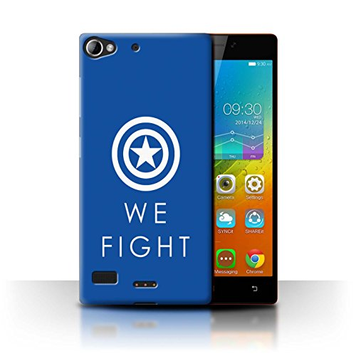 Stuff4® Hülle/Case für Lenovo Vibe X2 / We Fight/Civil War Muster/Infinity War Inspiriert Kollektion