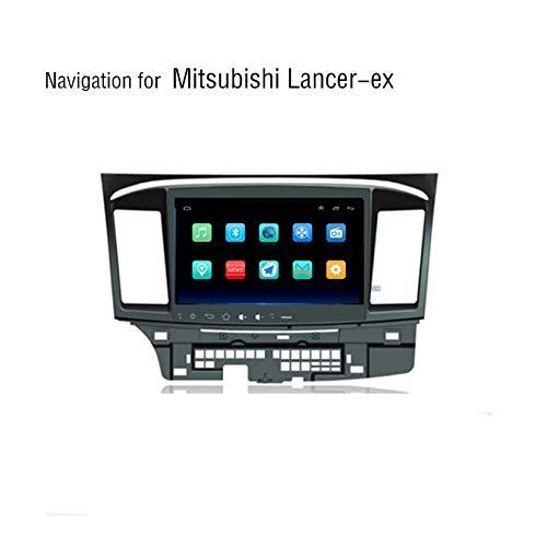 Hahaiyu Android 8.1 im 10,2-Zoll-MP5-Stereo-Auto-MP5-Player für Mitsubishi Lancer ex (2010-2015), kapazitiver Touchscreen für GPS-Radio, WLAN, BT, Mirror Link (2015 Auto Doppel Din Stereo)