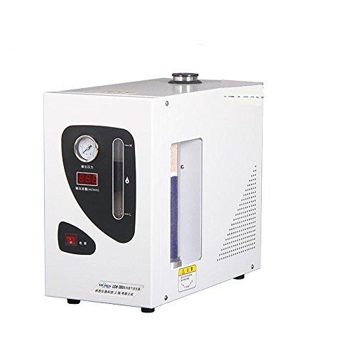 NEWTRY LCH-300 Generador de gas de hidrógeno de alta pureza para cromatografía de gas 0 - 300 ml/min pantalla digital