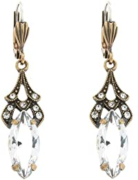 e32564be0 Cavendish French Clear Cubic Zirconia Drop Hook Earrings