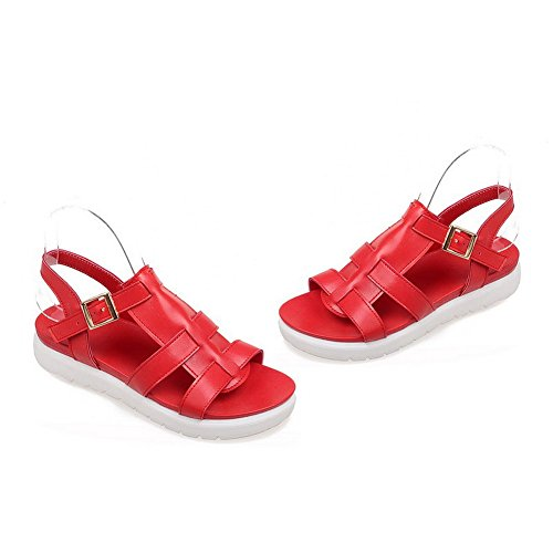 1to9, Sandales Femme Rouge
