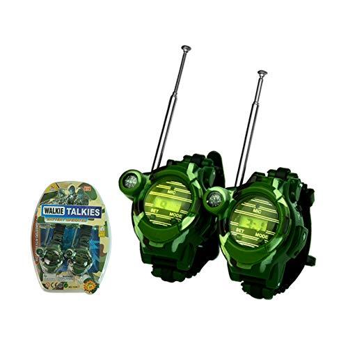 feuerwehrmann sam zelt EisEyen 2 Stück Kinder Walkie Talkie Uhr Camouflage Watch Outdoor Auto Zelten Wandern Spielzeug Geschenke für Mädchen und Jungen