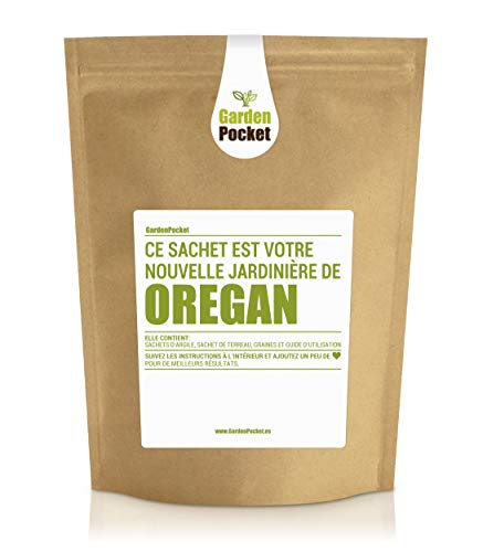 Garden Pocket - Kit de culture d'herbes aromatiques OREGAN - Sac de pot de fleur