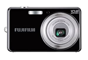 Fujifilm Finepix J27 Digitalkamera (10 Megapixel, 3-fach opt. Zoom, 6,9 cm (2,7 Zoll) Display) Schwarz