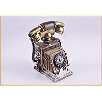 Preisvergleich für Spardose Kunstharz Europäische Retro Palace Spardose Weihnachten oder durch Tag Geschenk, Holz sparen Box Ihre Münzen, silber
