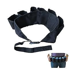 Idea Regalo - Bello Luna Utile Cintura di Birra con Cinturino Regolabile per attività all'aperto