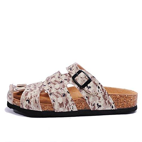Wind England Cork Pantoffeln/Sommersandalen und Hausschuhe/Freizeitschuhe für Männer und Frauen/Liebhaber skid Schuhe B