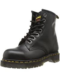 Dr. Marten's Unisex Black Leather Safety 7B10 Boots  10 Uk Regular