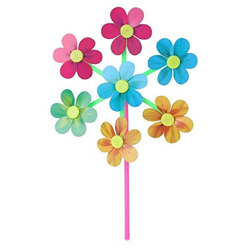 Uteruik Windrad Windmühle Dekoration Party Garten Windrad Taube Vogelschreck Maulwürfe 1 Stück DER#3 | Garten > Dekoration > Windräder | Uteruik