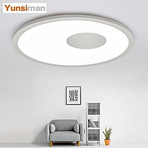 XMZ ancien vintage moderne plafond lumière tenue Lampe de plafond Suspension Industrial Idéal pour salle à manger bar clubsrestaurants40cm-atenuación de trois couleurs
