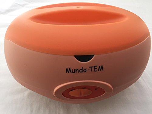 Mundo-TEM® Calentador de parafina, Capacidad 3 litros, Manual Breve para Tratamiento de Parafina