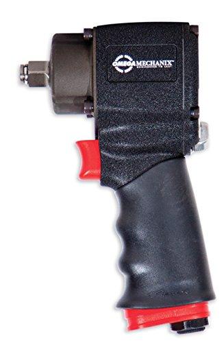 Omega Mechanix M2061 Clé à Chocs Pneumatique Ultra Compacte, 1/2 Pouces DR