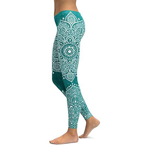 Hosen Einzigartiger Print Elastic Slim Design Running Leggings Gym Wear ()