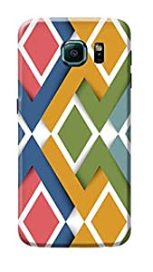 Samsung Galaxy S6 Edge Back Cover Premium Quality Designer Printed 3D Lightweight Slim Matte Finish Hard Case Back Cover for Samsung Galaxy S6 Edge by Tamah