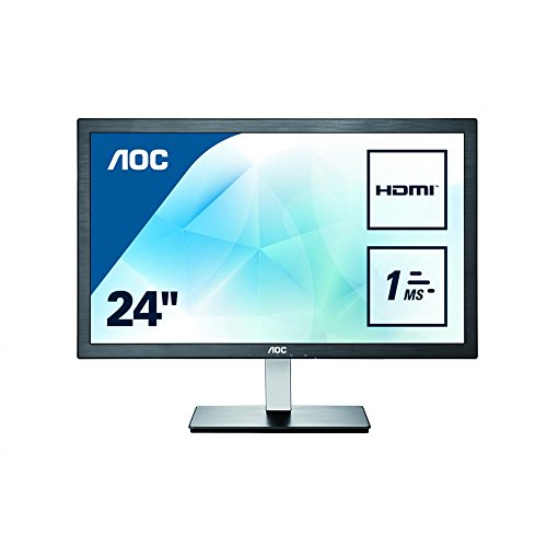 AOC e2476VWM6 24-Inch LCD/LED Monitor - Black