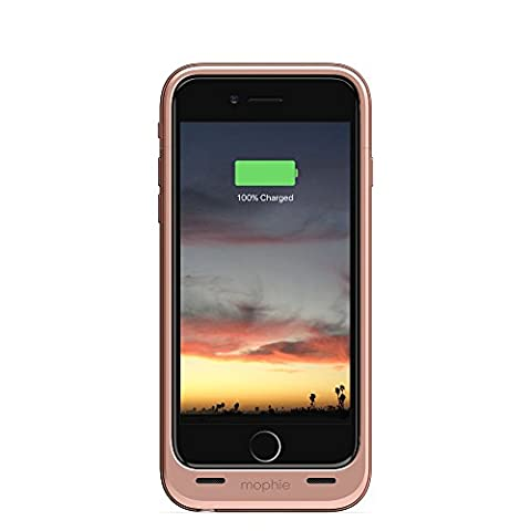 mophie juice pack air Compact Battery Case for iPhone 6/6S - Rose Gold