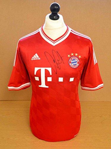 Franck-Ribery-Signed-Bayern-Munich-1314-Shirt-Autograph-Jersey-Memorabilia-COA