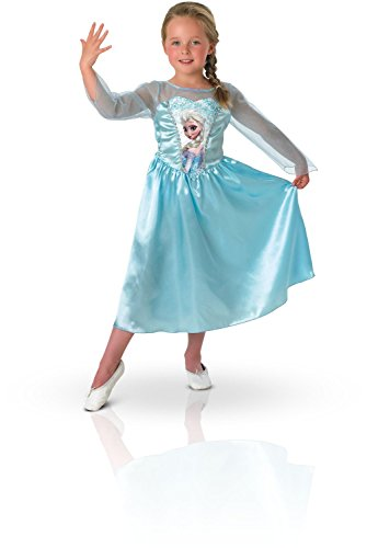 Frozen Kleid ELSA Karneval Kostüm (7-8Jahre) (Frozen Elsa Kleid Erwachsenen)