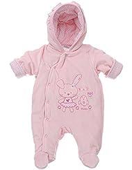 Ital-Design - Pantalón de peto - para bebé niña