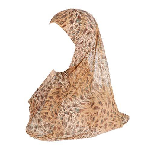 Auiyut Frauen Indian Muslim Islamic Mützen Sommer Kopftuch Convenient Schal Kopf tragen Schal Turban Stirnband Chemo Krebs Cap Muslimische Headscarf