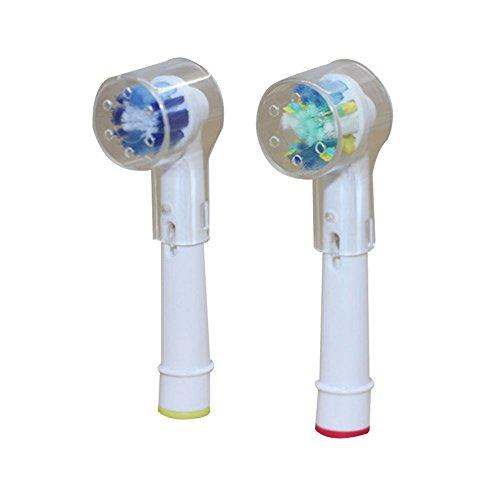 steellwingsf Ersatz Bürstenkopf von Schutz Schutzhülle Kappe für elektrische Zahnbürste, plastik, durchsichtig, Einheitsgröße