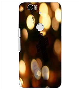 PrintDhaba Pattern D-3965 Back Case Cover for HUAWEI NEXUS 6P (Multi-Coloured)