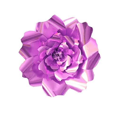 Arichtop 1pcs / 2ST 20cm 30cm DIY Papierblumen-Kinder Foto Hintergrund Künstliche Blumen Hochzeit Geburtstag Party-Ausgangswand-Dekoration