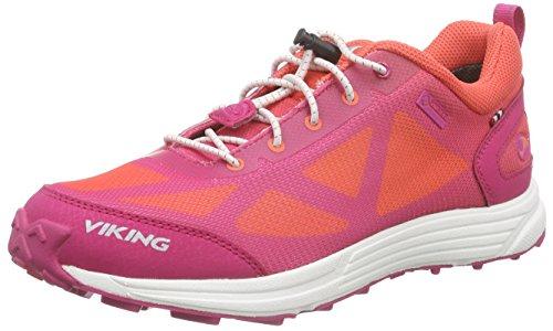 Viking Unisex-Kinder Svenner Low-Top Pink (Dark Pink/Coral 3951)