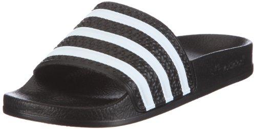 adidas Originals ADILETTE W 072329 Damen Sandalen/Bade-Sandalen, Schwarz, 39 1/3