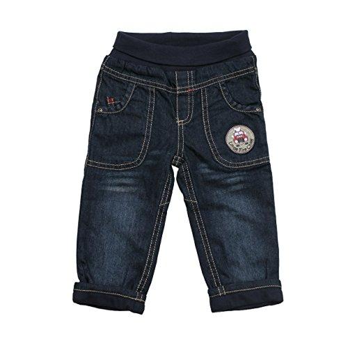 SALT AND PEPPER Baby - Jungen Jeanshose B Jeans littel fire chief, Einfarbig, Gr. 80, Blau (original 099)