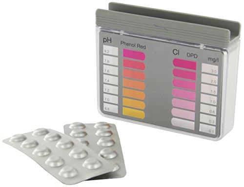 Steinbach Poolchemie Testkit für pH-Wert und freies Chlor, 20 Tabletten ( 2x10 Stk. )