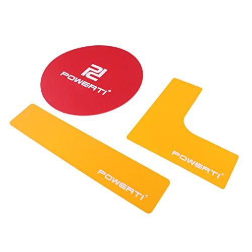 Baoblaze Markierungslinien Aufkleber Für Basketball Fußball Tennis Badminton Gericht Markieren