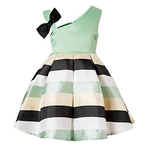 Trada Baby Mädchen Kleid, Kinderkleid Floral Baby Mädchen Prinzessin Brautjungfer Festzug Kleid...