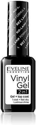 ايفلين - طلاء أظافر فينيل چل 1x2 اللون أبيض رقم 200 - 12 مل