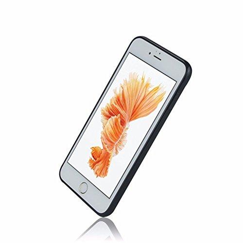 Anti Gravity Case für Apple Iphone 6 / 6s 4.7 Zoll Smart Slim Case Book Cover Stand Flip (Schwarz) NEU in Schwarz