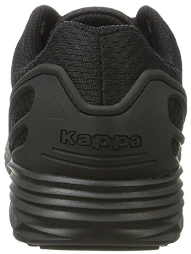 Kappa Trust, Baskets Basses Mixte Adulte Noir (1111 Black)